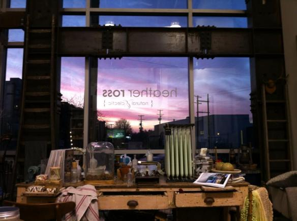 sunset at heather ross natural eclectic