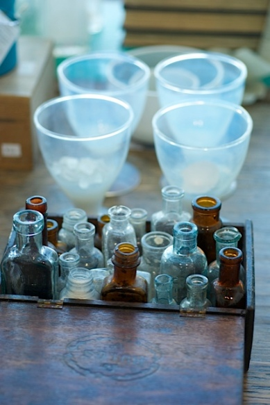 glassware from heathe ross natural eclectic