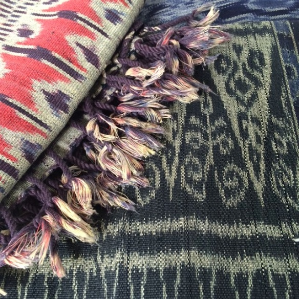 Ikat threads
