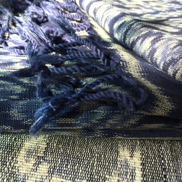 Indigo Ikat Heather Ross
