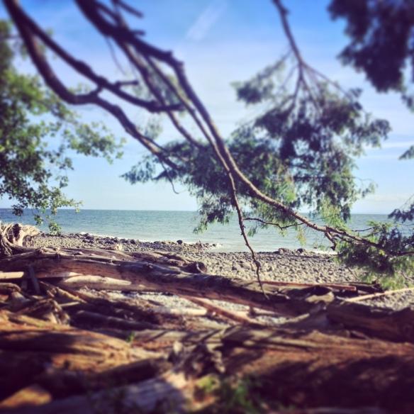 beach 5 minutes away